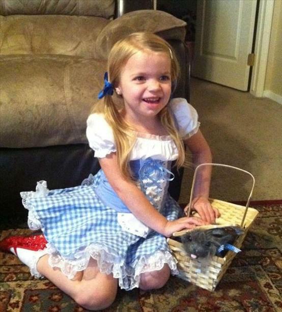 Drew as Dorothy