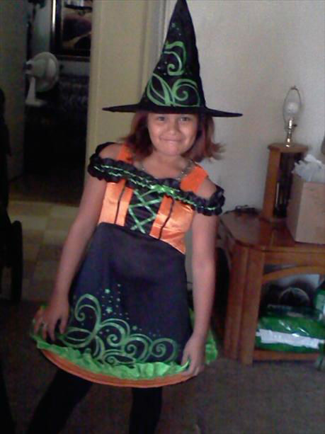 This is Marina from Merced -- cutest lil witch. <span class=meta>(KFSN Photo&#47; uReport.abc30.com)</span>