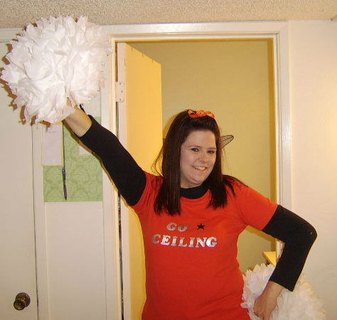 This is my last minute costume. I&#39;m a ceiling fan! Go Ceiling!! <span class=meta>(KFSN Photo&#47; uReport.abc30.com)</span>