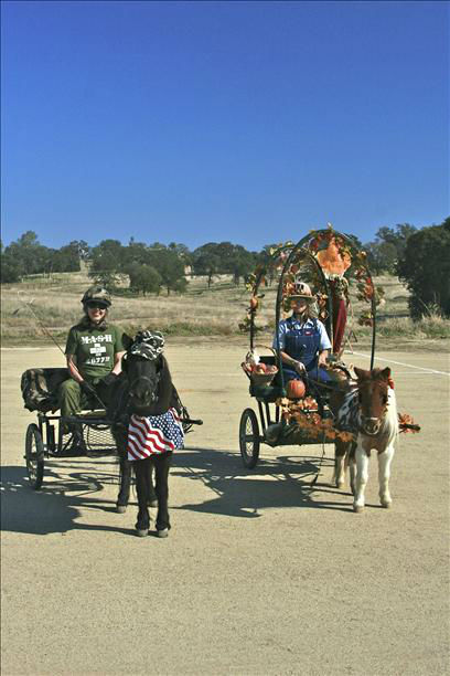 Horsey Halloween Haunt. Horse driving event and costume contest at Whiffletree Ranch in Madera.  <span class=meta>(KFSN Photo&#47; uReport.abc30.com)</span>
