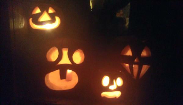 Jack o lanterns <span class=meta>(KFSN Photo&#47; uReport.abc30.com)</span>