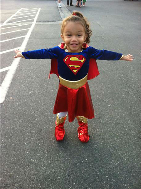 Our little supergirl! <span class=meta>(KFSN Photo&#47; uReport.abc30.com)</span>