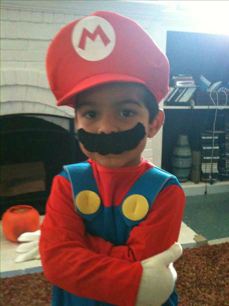 My son, Jayden dressed as Mario!! Natalie Castro- Apodaca <span class=meta>(KFSN Photo&#47; uReport.abc30.com)</span>