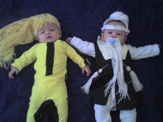 My sons Conor and Ethan..  X-ray Skeleton and Bumble Bee from transformers.. <span class=meta>(KFSN Photo&#47; uReport.abc30.com)</span>