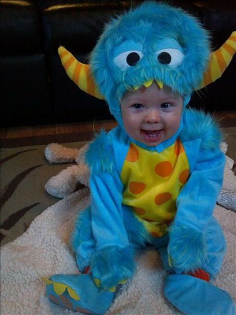 Daniel the 7month old MONSTER! <span class=meta>(KFSN Photo&#47; uReport.abc30.com)</span>