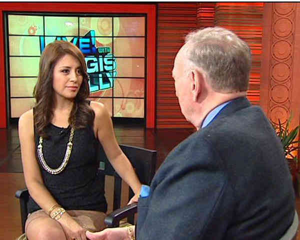 Action News anchor Graciela Moreno traveled to New York for an interview with Regis and Kelly. <span class=meta>(KFSN Photo&#47; ABC30)</span>