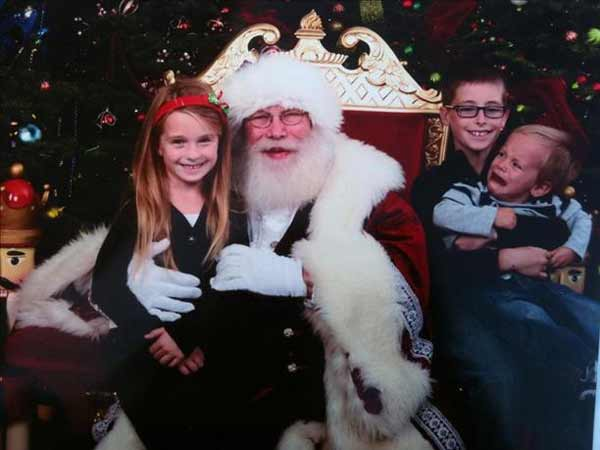 Poor Ryan didnt like Santa this year :&#41; <span class=meta>(jknappe)</span>