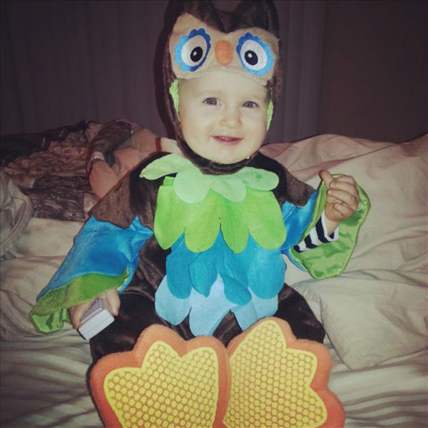"<div class=""meta ""><span class=""caption-text "">Maddox (10 months) excited to be in his Halloween costume! (KFSN Photo/ uReport)</span></div>"