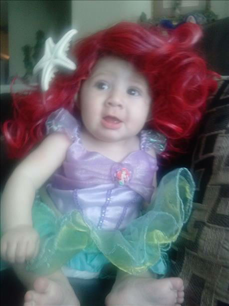 "<div class=""meta ""><span class=""caption-text "">Little mermaid costume - 4 month old Scarlett Rose from Sanger, CA (KFSN Photo/ uReport)</span></div>"