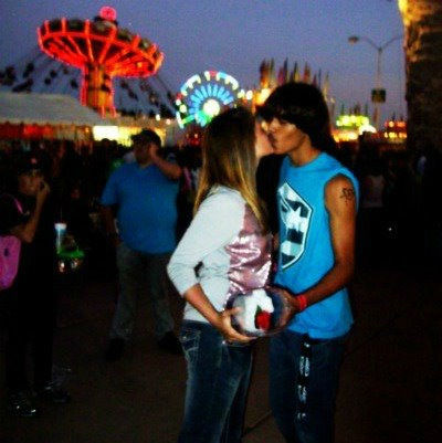 "<div class=""meta ""><span class=""caption-text "">""My friend and her boyfriend went to the fair for their 6 month anniversary  - By Kimberly Brant"" (Kimberly Brant)</span></div>"