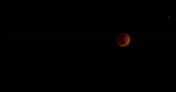 Blood moon as seen in Merced <span class=meta>(KFSN Photo&#47; Facebook &#47; Toni Jones)</span>