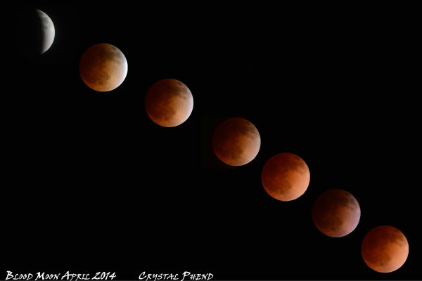Blood Moon photos from around the Valley <span class=meta>(Facebook &#47; Crystal Phend)</span>
