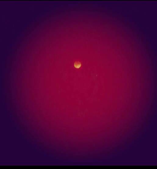 Blood Moon photos from around the Valley <span class=meta>(Facebook &#47; Ruby Morales)</span>