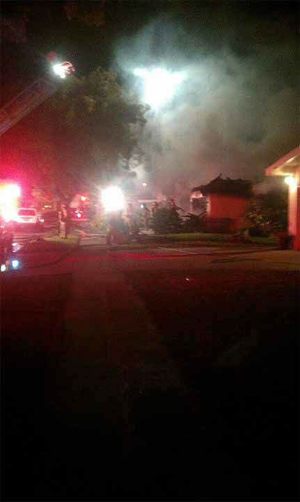 "<div class=""meta image-caption""><div class=""origin-logo origin-image ""><span></span></div><span class=""caption-text"">Firefighters say an 11-year-old girl staying at her grandma's house saw and smelt smoke coming from the garage and quickly woke up her family.  (Kailey Valadoa - Facebook)</span></div>"