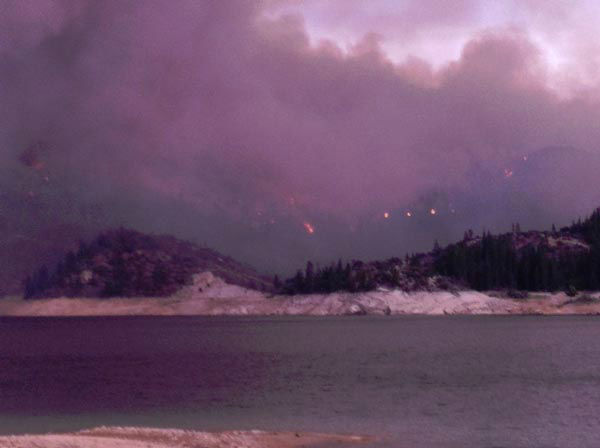 "<div class=""meta image-caption""><div class=""origin-logo origin-image ""><span></span></div><span class=""caption-text"">View of the Aspen Fire taken from Mammoth Pool Mammoth Pool Reservoir (KFSN Photo/ Facebook / Nikki Morris)</span></div>"