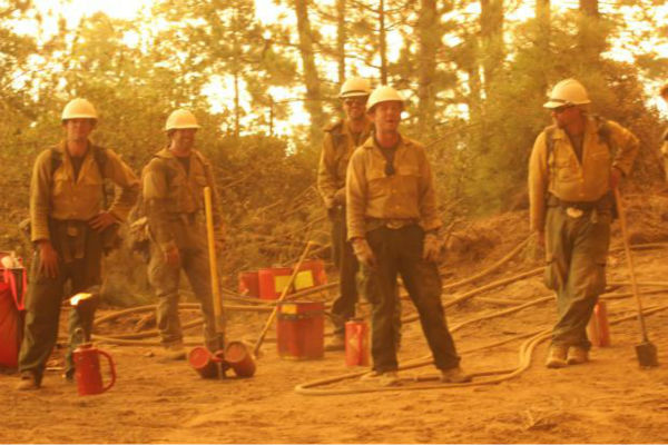 "<div class=""meta image-caption""><div class=""origin-logo origin-image ""><span></span></div><span class=""caption-text"">Silver State IHC and a break in the action (KFSN Photo/ Mike McMillan - USFS)</span></div>"