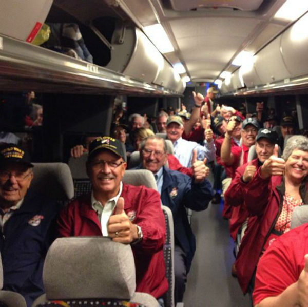 "<div class=""meta ""><span class=""caption-text "">Honor Flight is ready to roll!  (KFSN Photo/ Warren Armstrong)</span></div>"