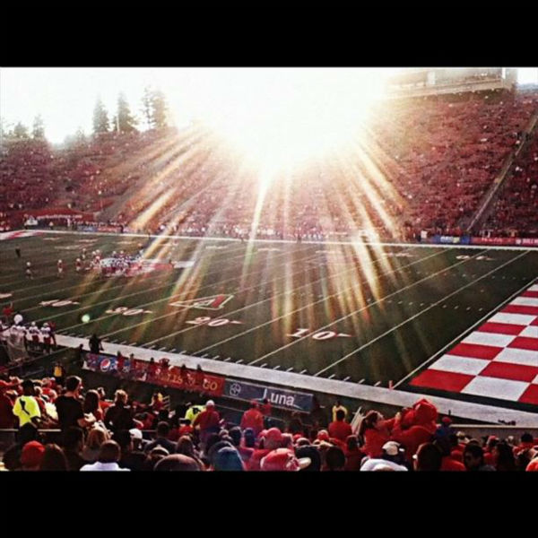 I had alot of fun today! Thanks big brother&#40;: #fresnostate #fresnostatebulldogs #wewon #footballfield #bulldogs #csuf #bds #beatNewMexico #fallinfresno <span class=meta>(KFSN Photo&#47; Instagram &#47; omgitsspmc)</span>