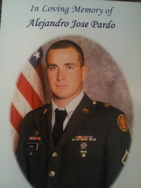 Private A.J. Pardo laid to rest in Porterville <span class=meta>(KFSN Photo&#47; Linda Mumma)</span>