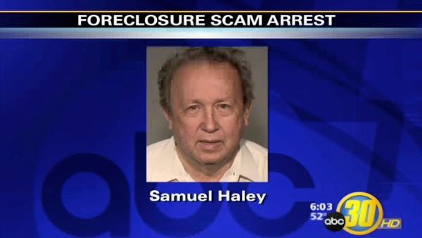 Fresno Foreclosure Scam Arrest
