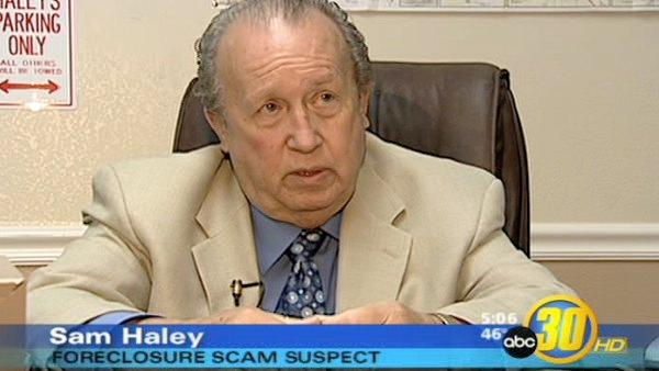 Scam suspect Haley tells his side