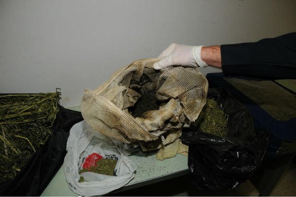 "<div class=""meta ""><span class=""caption-text "">The Fresno Police Department discovers a significant amount of marijuana being processed into hashish while serving a search warrant. (Photo/Fresno Police Department)</span></div>"