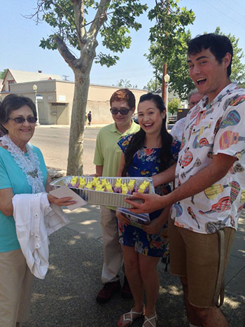 Families across the Central Valley celebrate Easter. <span class=meta>(Facebook &#47; Liam Niewohner)</span>