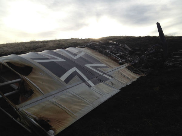 A plane has crashed in Mariposa County. The FAA says a homebuilt, experimental plane had smoke in the cockpit and made an emergency landing in a cow pasture.   <span class=meta>(KFSN Photo&#47; ABC30)</span>