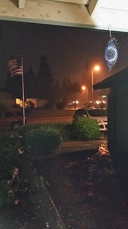 West side of Visalia! It&#39;s pouring! <span class=meta>(Facebook &#47; Heatherly Gerardi)</span>