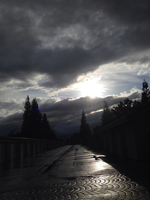 Storm moves through the Central Valley. <span class=meta>(Facebook &#47; Natasha Gonzalez)</span>