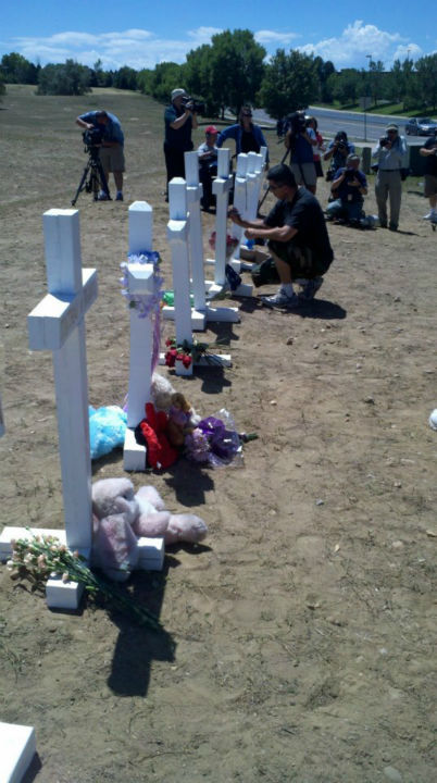 The crosses were personalized within the first hour of being set up. <span class=meta>(KFSN Photo&#47; Rick Montanez)</span>