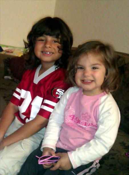 Team Melton ready for the 49ers game! <span class=meta>(KFSN Photo&#47; uReport)</span>