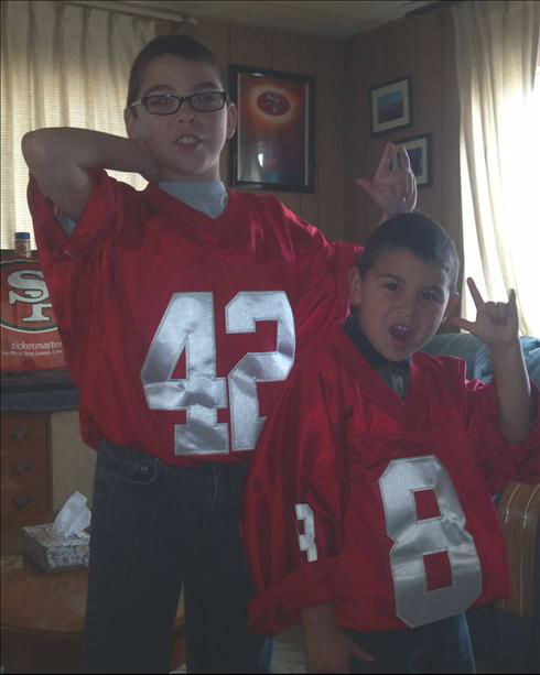 49er fans!!!!! <span class=meta>(KFSN Photo&#47; uReport)</span>