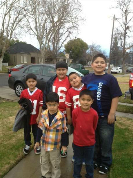 Forty Niner Family fun! <span class=meta>(KFSN Photo&#47; uReport)</span>