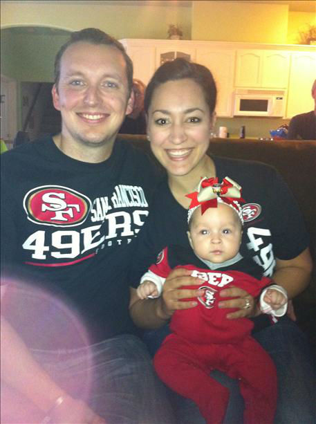 McIntyre family ready for some Niner football!! <span class=meta>(KFSN Photo&#47; uReport)</span>