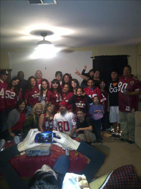 Niner fans! <span class=meta>(KFSN Photo&#47; uReport)</span>