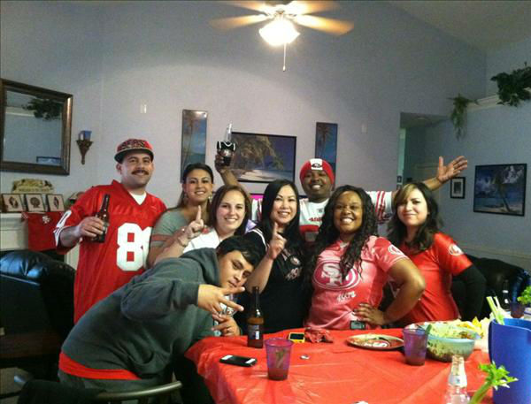 Niners!!! <span class=meta>(KFSN Photo&#47; uReport)</span>