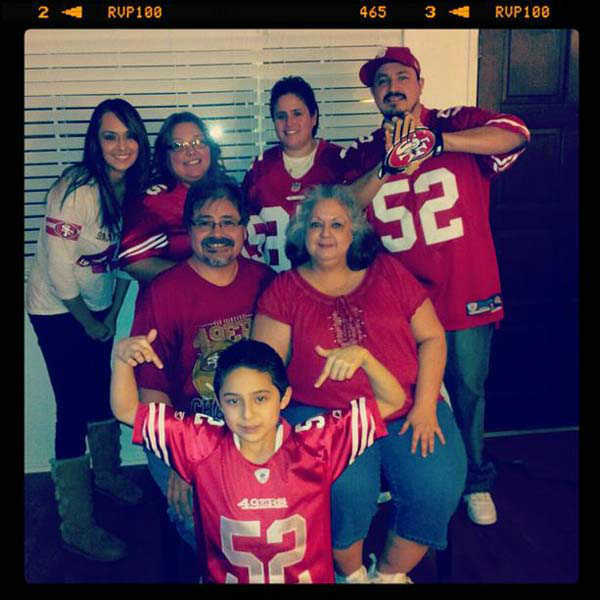 49er fans around the Valley <span class=meta>(KFSN Photo&#47; uReport)</span>