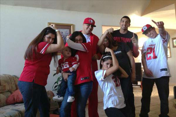 When the 49ers win we must be Kaepernicking GO NINERS !!!!!! <span class=meta>(KFSN Photo&#47; uReport)</span>