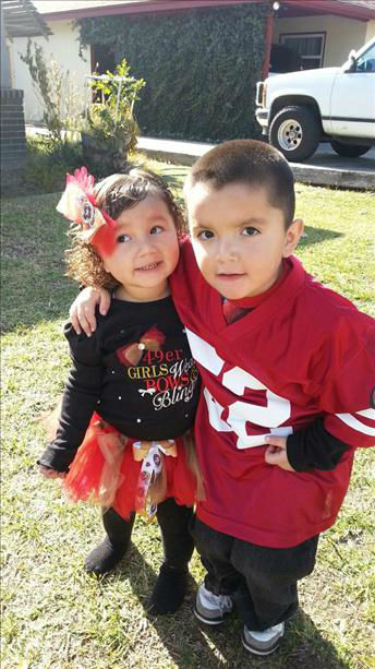 My lil Niners  <span class=meta>(KFSN Photo&#47; uReport)</span>