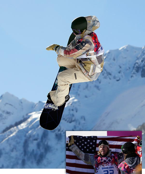 Sage Kotsenburg uses a new trick to take 1st gold in Snowboarding Slopestyle  By EDDIE PELLS - Saturday, February 8, 2014   KRASNAYA POLYANA, Russia &#40;AP&#41; - Sage Kotsenburg loves snowboarding for all its unexpected surprises.  Winning the Olympic gold medal, for one.  And winning it with a trick so outrageous, he named it the &#34;Holy Crail.&#34;  The 20-year-old American jetted off the first big jump of the slopestyle course Saturday and propelled himself into a helicopter twirl that whirred around for four-and-a-half rotations. While in the air, he grabbed the back of his board and flexed his legs behind his back.  Kotsenburg landed the jump cleanly. The fans in the mostly full stands, knowing they had seen something completely new in a completely new Olympic sport, let out a huge gasp.  On the strength of a trick that will officially go down as a &#34;1620 Japan Air Mute Grab,&#34; the kid from Coeur d&#39;Alene, Idaho, and known as &#34;Second Run Sage&#34; posted a winning score of 93.5 on his first run.  Nobody in the 12-man field of finalists could top him. Kotsenburg put the first gold medal of the Sochi Games into the &#34;USA&#34; column. Soon after, he and the other medalists, Staale Sandbech of Norway and Mark McMorris of Canada, were hugging, body-slamming and turning their sport&#39;s &#34;Kiss and Cry&#34; zone into a mosh pit.  &#34;I kind of do random stuff all the time, never make a plan up,&#34; Kotsenburg said. &#34;I had no idea I was even going to do a 1620 in my run until three minutes before I dropped. It&#39;s kind of what I&#39;m all about.&#34;  Kotsenburg&#39;s jump was the high point of yet another sunny, windless day at the Rosa Khutor Extreme Park. Combining all that, along with a bit of half-expected, half-legitimate griping about the judging, made it easy to forget that Shaun White had pulled out of this event before qualifying, complaining about the toughness of the course.  White, one of the most cutting-edge innovators in the game, was practicing on the halfpipe below when Kotsenburg landed a trick nobody had seen in a bona fide contest.  &#34;Never even tried it before,&#34; Kotsenburg said. &#34;Never, ever tried it in my life.&#34;  Despite the excitement of that trick, there was some head-scratching going on elsewhere.  Sandbech, McMorris and Winter X Games champion Max Parrot were among those who threw the much-ballyhooed triple cork, which is three head-over-heels flips - considered way more dangerous and athletic and presumed to be the must-have trick to win the first Olympic gold in this sport&#39;s history.  Kotsenburg never tried one.  There are, of course, seven or eight tricks in every run - boxes to jump on, rails to ride over and even the option to jump over the giant Russian nesting doll near the top of the course. Splashes and bobbles on any of them can cost precious points.  But rider after rider came off the course and concluded that Kotsenburg&#39;s win symbolized a shift in the sport; that judges are looking for more technical moves with so-called style rather than a simple gymnastics meet on the snow.  &#34;I think definitely Mark and Staale did some runs that should&#39;ve scored higher. Sage had some really creative stuff. But whatever,&#34; said Canada&#39;s Sebastien Toutant, who finished ninth. &#34;They&#39;re all homeys. They deserved it. The sport is getting judged by humans and life goes on.&#34;  Sandbech celebrated his clean triple cork at the bottom by swan diving into the snow.  The crowd loved it. The judges only gave it a 91.75.  &#34;It was kind of hard from the start to know what the judges were awarding for,&#34; he said.  As recently as a month ago, McMorris was considered a favorite to win the gold, whether White showed up at the contest or not.  But he broke a rib after slamming into a rail during the finals of the Winter X Games two weeks ago. There was some thought he&#39;d wear a Kevlar vest to protect himself, but no.  He thought his run might get a higher mark than the 88.75 he received. Didn&#39;t happen.  Then, he was sure he&#39;d been knocked off the podium when Parrot, also from Canada, went last and also landed the triple. Parrot finished fifth.  &#34;If you ride the best you can ride, and you&#39;re satisfied with that, the rest is up to the judges,&#34; McMorris said. &#34;To be honest, that&#39;s the least of my worries. I&#39;m just really, really thankful, from where I was two weeks ago, to be on the podium.&#34;  Kotsenburg is, too.  When he was a kid, he went to snowboarding camp in Oregon and Mike Jankowski, the coach there and now the coach of the U.S. team, tried to coax kids away from the big features and over to the halfpipe, where the fundamentals are taught.  Wasn&#39;t so easy with this kid. He always wanted to do the jumps.  &#34;For Sage, that&#39;s what he&#39;s about,&#34; Jankowski said. &#34;It&#39;s keeping snowboarding fun, whether the judges like his run, whether he gets a high score or a low score.&#34; <span class=meta>(AP &#47; Sergei Grits and Andy Wong)</span>