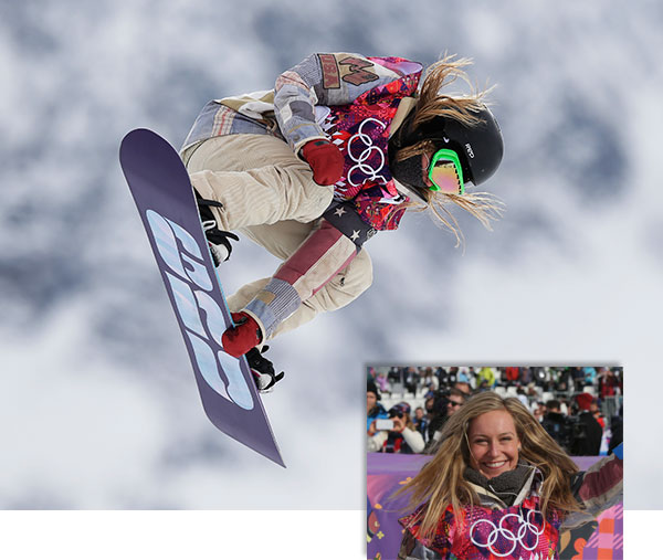 Jamie Anderson wins gold, completes US Olympic sweep in slopestyle  By WILL GRAVES  KRASNAYA POLYANA, Russia &#40;AP&#41; - Jamie Anderson stood atop the podium and lifted her arms in triumph, her long and sometimes draining quest for Olympic glory finally complete.  The American star ran into some unusual friends at the top.  Anderson gave the United States a gold-medal sweep in the first Olympic slopestyle snowboarding competition on Sunday, while Jenny Jones took bronze to win Britain&#39;s first medal in any snow sport.  Anderson soared to victory in a near flawless run in the women&#39;s final on Sunday, a day after Sage Kotsenburg captured the men&#39;s gold medal. The 23-year-old from South Lake Tahoe, Calif., did it, as is her fashion, when the moment absolutely required it.  Down to one last trip through the treacherous Rosa Khutor Extreme Park course, Anderson took a deep breath, enjoyed a brief moment of &#34;Zen&#34; and showcased the skills that have made her the greatest slopestyle snowboarder of her generation.  &#34;I was really just trying to stay calm and kind of reserve my energy,&#34; Anderson said. &#34;It was a lot of stress up there and even though it&#39;s just another competition, the stage and the outreach that this event connects to is out of control.&#34;  Anderson looked at ease as she made history. While some of her competitors struggled to find enough air time to provide the series of spins and grabs necessary to impress the judges, Anderson floated through the gray conditions.  &#34;Jamie&#39;s an awesome competitor,&#34; American teammate Karly Shorr said. &#34;She does whatever she has to win. She never cracks under pressure. She uses it. She lands.&#34;  Enni Rukajarvi of Finland took silver and Jones, a 33-year-old former maid at a ski resort, delivered a long-awaited medal for Britain. Alain Baxter appeared to give the country its first medal on snow when he finished third in the slalom at Salt Lake City in 2002, but his bronze was stripped for doping.  Jones grew up in southwest England, where her first lessons were on dry ground. The nation of rolling hills doesn&#39;t have rocky peaks meant for shredding, but Britain has begun producing world class snowboarders. Jones&#39; friends and teammates Jamie Nicholls and Billy Morgan both made the men&#39;s slopestyle final.  &#34;I know we don&#39;t have any mountains,&#34; Jones said. &#34;But I think there&#39;s a growing number of snowboarders from England.&#34;  Still, it&#39;s Anderson who is the closest thing to a household name for a sport still trying to emerge from the shadow of the halfpipe.  Anderson had expressed concern about the difficulty of the course during training, particularly after a jarring crash in practice on Wednesday left her with an aching back.  She watched was competitor after competitor struggled to navigate the series of rails and jumps that Finland snowboarder Peetu Piiroinen feared was too big for women.  At times, it looked like it.  Sarka Pancochova of the Czech Republic cracked her helmet during a frightening crash on her second trip down the mountain. She lay motionless on the snow for over a minute before recovering to stand up and make it to the bottom.  Moments after Pancochova&#39;s scare, Rukajarvi bumped Jones out of the top spot with a 92.50, her highest of the competition.  And for a few minutes, it looked like it may be good enough. Olympic halfpipe gold medalist Torah Bright - competing in the first of three snowboarding events in Sochi - couldn&#39;t catch her. Neither could Switzerland&#39;s Elena Koenz or Shorr.  Ultimately, it came down to Anderson, just the way she prefers it.  She came into the games as a heavy favorite but found herself up against it after a so-so first run. Taking a deep breath and trying to drink in the moment, she delivered with a combination of athleticism and grace no one can match.  Anderson made the &#34;safe&#34; sign after landing her final jump and flipped her right mitten in the air before exchanging hugs with Rukajarvi, Jones and Switzerland&#39;s Sina Candrian. It was a moment symbolic of the camaraderie enjoyed by a group of snowboarders who consider themselves friends just traveling the globe trying to put on a show.  &#34;I think most of us have been thinking about this for a few years,&#34; Anderson said. &#34;To just have that moment come so quick and really knowing this is your moment, you just want to shine and do your best and show the world what a fun sport snowboarding is.&#34;   <span class=meta>(AP &#47; Andy Wong and Sergei Grits)</span>
