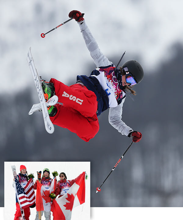 "<div class=""meta ""><span class=""caption-text "">Devin Logan takes silver in Women's Slopestyle Skiing By WILL GRAVES    KRASNAYA POLYANA, Russia (AP) - The lasting image of freestyle skiing pioneer Sarah Burke is her ever-present smile, the one that helped inspire kids across Canada to slap on their skis and open their minds.  In an event that Burke's extraordinary vision helped bring to the Olympics, Dara Howell channeled her idol's style.  Mouth agape after a spectacular run on slush more suited for a snowcone, Howell continued Canada's dominance at Rosa Khutor Extreme Park by soaring to gold as women's slopestyle skiing made a sometimes inauspicious Olympic debut.  ""I said the other day that I really hope a Canadian brings home a gold medal and it will be for Sarah,"" Howell said. ""This medal is definitely for Sarah. She pushed the sport.""  Burke died in 2012 at age 29 following an accident while training on the halfpipe.  A charismatic and accomplished performer and one of the key players in expanding freestyle skiing's role in the Olympics, she served as a role model to a large swath of the Canadian freestyle team, including the 19-year-old who found herself atop a podium on Tuesday.  ""She always wanted to see the progression,"" Howell said. ""To see the girls throwing what the guys were throwing ... today I feel like that's what I did.""  Howell unleashed a switch-900 - an off-axis spin that includes 2 ½ rotations - during a run that finished with a score of 94.20, trouncing the rest of the field on a warm and sometimes frightening day.  Devin Logan of the United States took silver. Kim Lamarre earned bronze to give Canada seven medals in four days of snowboarding and freestyle skiing, including three events in which they took two of the three spots on the podium.  ""We're over the moon right now,"" said Peter Judge, CEO of the Canadian Freestyle Skiing Association. ""Our target was to get six total - and we still have a few events left.""  Howell's triumph was tempered by a series of frightening crashes, including one by teammate Yuki Tsubota. That ended with Tsubota being carried off the mountain on a stretcher with a possible fractured jaw. Russian Anna Mirtova wiped out during both of her final runs and said she's heading for knee surgery.  ""It was tough conditions,"" Lamarre said. ""It's not easy for speed on slushy snow. You can't always be perfect and land everything.""  Maybe, but Logan conceded that the Canadians are more perfect than most at the moment. While the U.S. grabbed gold in both men's and women's slopestyle snowboarding over the weekend, Canada has dominated everything else. Slopestyle snowboarder Mark McMorris earned bronze and Canada went 1-2 in both men's and women's moguls.  ""They're really good as you can see,"" Logan said. ""They're definitely giving us a run for the money. It helps us progress our sport. It's nice having a little bit of a rivalry trying to beat them or one up them.""  Only Logan's acrobatic run to an 85.40 in the slopestyle skiing finals prevented the top of the podium from being covered with the Maple Leaf flag. Logan's medal-winning sprint included a frontside 720-degree spin in which she gamely held on while landing.  Logan, who is from West Dover, Ver. but now lives in Oceanside, Calif., turns 21 next Monday.  After a soul-testing stretch that included two comebacks from a torn ACL in her right knee, her celebration includes a trip to Las Vegas and adding a tattoo.  ""Not of the Olympic rings,"" she added with a laugh.  Howell's plans are more demure, including a trip back to Canada to ski with her 99-year-old grandfather, who still finds a way to get out on the mountain near her hometown of Huntsville, Ontario, every day. The two chatted briefly after her victory, a conversation that included a lot of screaming if not a lot of detail about what Howell had just done.  ""He tries his best to understand it,"" she said. ""I don't think he's got it yet.""  The same could be said for a sport that looked more than a little unpolished in its Olympic debut.  Nearly half of the 44 qualifying runs over the series of rails, jumps - and one oversized Russian nesting doll - ended with a skier face down in the snow or pulling out of self-preservation.  ""On days like this, normally we wouldn't be trying to do our gnarliest tricks because we're getting stuck,"" said American Keri Herman, who came in as a medal contender but finished 10th. ""But right now, we're at (the Olympics), so here we go, let's do it."" (AP / Sergei Grits / Andy Wong)</span></div>"