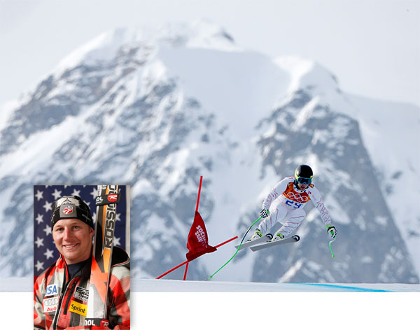 Andrew Weibrecht wins silver in Olympic Men&#39;s Super-G By GRAHAM DUNBAR   KRASNAYA POLYANA, Russia &#40;AP&#41; -  Andrew Weibrecht charged late at Jansrud&#39;s time of 1 minute, 18.14 seconds to take a surprise silver, edging U.S. teammate Bode Miller and Jan Hudec of Canada into a tie for bronze.  Kjetil Jansrud won his audition for Norwegian idol at the Sochi Olympics.  In an Alpine event that Norway absolutely owns, Jansrud won a thrilling men&#39;s super-G race Sunday one week after earning bronze in downhill.  Norway&#39;s fourth straight super-G gold, and fifth in the past seven Winter Games, put the 28-year-old Jansrud in a proud Olympic  tradition started by now-retired great Kjetil Andre Aamodt and extended by Aksel Lund Svindal, his more heralded teammate.  &#34;He is absolutely an idol for young Norwegians today,&#34; the Scandinavian nation&#39;s prime minister, Erna Solberg, told reporters after watching Jansrud&#39;s victory. Pre-race favorite Svindal placed seventh in defense of his title.  Miller, 36, became the oldest ever Olympic Alpine medalist, surpassing the mark Aamodt set when he won the super-G at Turin in 2006 at age 34.  And with his sixth career Olympic medal, spread over 12 years, Miller took sole possession of second place on the all-time men&#39;s Alpine medal list, two behind Aamodt.  &#34;It&#39;s big, insane,&#34; Jansrud said of Norway&#39;s dominance in super-G, a discipline that challenges racers to be fast and technically correct through a gate-setting they have never practiced. They are allowed a one-hour, early-morning course inspection.  &#34;Somehow when you come to the Olympic Games, Norwegians are on the top of the podium and that is impossible to describe,&#34; he said. &#34;It feels perfect so far.&#34;  Prime Minister Solberg said hosting the 1994 Lillehammer Olympic was a key point in developing Alpine racing in Norway, a land where cross-country skiing dominates.  Jansrud, who was eight when Aamodt took bronze in super-G at Lillehammer, singled out Miller as one of his own idols.  &#34;He was already winning races when I was a little kid. He has been one of my heroes,&#34; Jansrud told The Associated Press. &#34;He has had such an amazing career.&#34;  Miller, who started No. 13, took the lead with an exhilarating run, though he lost time going off line down the steep final slope after making the final jump.  &#34;To be on the podium, it&#39;s a really big day for me,&#34; said Miller, who placed eighth in downhill and sixth in super-combined. &#34;Emotionally, I had a lot riding on it. I&#39;m super, super happy.&#34;  Miller let out his emotions, too, tearing up when he hugged wife, professional volleyball player Morgan Miller, after the race.  Jansrud started No. 21 and was 0.53 faster than Miller, whose time was matched by Hudec.  Still, No. 29 Weibrecht shook up the picture - and made Jansrud&#39;s legs &#34;like jelly&#34; - by being fastest on the upper half and racing into second, 0.30 back.  At these sunbathed Sochi Olympics, starting numbers above 22 have proved impossible to turn into medals on softening snow, and Weibrecht was in a bad mood the night before racing.  &#34;I thought that 29 was kind of a death sentence in terms of having a good run,&#34; he said. &#34;I consciously made a promise to myself that I wasn&#39;t going to let any of that affect my race.&#34;  Weibrecht peaked at the Olympics for the second time in an injury-ravaged career. Nicknamed &#34;War Horse,&#34; the Lake Placid, N.Y., native has blown out each ankle and gone through surgeries on both shoulders since the 2010 Vancouver Olympics, where he got super-G bronze.  He lost his sponsorship from the U.S. ski team after a string of lackluster results, but that didn&#39;t make him any less of a threat in the eyes of the other skiers.  &#34;With Andrew at the start, I was like, &#39;There&#39;s a good chance he wins this run right now,&#39;&#34; said Miller, who took silver in the super-G at Vancouver.  The Americans shared the podium again Sunday. And, again, there was a Norwegian standing above them.   &#34;I don&#39;t think we have any secrets,&#34; Norway men&#39;s Alpine coach Havard Tjorhom said. &#34;Both &#40;Lasse&#41; Kjus and Aamodt have been a huge inspiration for both of our guys.&#34;  So, can new national hero Jansrud perhaps knock cross-country off Norway&#39;s newspaper back pages?  &#34;I think we are not even close,&#34; Tjorhom said. &#34;We just have to ski fast and, maybe, one day.&#34;  <span class=meta>(AP &#47; Charlie Riedel &#47; Ed Andrieski)</span>