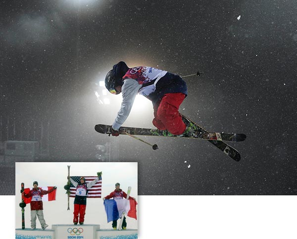 "<div class=""meta ""><span class=""caption-text "">David Wise wins Olympic halfpipe for another American gold By EDDIE PELLS  KRASNAYA POLYANA, Russia (AP) - David Wise considers himself a dad and husband first, a freestyle skier second.  That might be why he also became an Olympic champion.  Soaring through sloppy snow and sleet, Wise won the first gold medal in the young sport of halfpipe skiing Tuesday, outclassing a field in Sochi that had trouble with the slow, waterlogged conditions.  Sightlines were less than perfect on the first true soaker of a night at the action-sports venue, but not so bad that Wise couldn't look down from the top and see his wife, Lexi, and the rest of his family members cheering at the base of the halfpipe.  Many of them were holding big pop-out pictures of his 2-year-old daughter, Nayeli, stapled to wooden sticks.  ""To see that face looking back up at me was cool,"" Wise said.  After placing a heart-shaped rock Lexi gave him into one pocket, the 23-year-old from Reno, Nev., dropped into the halfpipe and scored a 92 - a mark that held up to beat Canada's Mike Riddle by 1.4 points.  Kevin Rolland of France took bronze.  That podium pretty much went to form, a fact not lost on Wise or any of the others, who have watched expected results in other action sports at these games get shuffled - partly because of conditions and maybe because of pressure. Shaun White never got comfortable with the tough halfpipe a week ago and finished fourth. Kelly Clark struggled and ended up with bronze, not gold.  ""I've been watching a lot of favorites lose this Olympics ... seeing how much pressure it can be and how you have to perform, regardless of the conditions or how you're feeling that day,"" Wise said. ""It's kind of sobering, to say the least.""  He had a couple new tricks he wanted to bust out for the Olympics, but because of the conditions, those will have to wait.  Instead, he went with his most dependable jumps: 2½ spins; two flips with 3½ spins; back-to-back 720-degree spins; then another two-flip, 1260-degree move. Some went 14-15 feet above the halfpipe. Most had fancy grabs of the skis that the judges love. All had rock-solid landings that win gold medals.  ""Dave is, right now, on top of the sport,"" said his 17-year-old American teammate, Aaron Blunck. ""He's the best. He's proven it multiple times. He comes out in any condition and has amazing fun. He's the dad out of the group. So, no matter what he does, we're proud of him""  Wise is the winner of three straight Winter X Games titles, which, until now, were the biggest prizes in his trophy case.  All these major victories have come since he got married and became a dad.  He's a family man - the regular dude in a counter-culture sport - and he's sure he wouldn't be this good if it were different.  ""I can go and ski my heart out, but that doesn't necessarily define who I am,"" he said. ""Being a good husband and father is more important. I can have passion with both things and it provides balance.""  Riddle's silver continued a sparkling stretch of freestyle skiing for Canada. Including the 1-2 moguls finish by the Dufour-Lapointe sisters, a 1-2 finish in men's moguls and some other strong results, the Canadians have won seven medals in the action sports, three of them gold.  This one means a little more, given that it came in the sport the late Sarah Burke of Canada pushed hardest to include in the Olympics. Burke was the freeskiing star who died two years ago after a training accident in the halfpipe.  ""Without Sarah, I don't think ski halfpipe or slopestyle would be anywhere near what it is right now,"" Riddle said. ""It wouldn't be in the Olympics. She had a massive impact and she's been on my mind a lot this week.""  Though the weather prevented the show from being the best the skiers have ever put on, certainly Burke would've appreciated the effort - and all those smiles.  ""The whole thing is to just go out there and try to have some fun,"" said Blunck, who finished seventh.  Wise had the most fun.  He brought America's medal total at the Sochi Games to 20 overall, with six golds. Eleven of the medals and five of those golds have come from the action sports, where Wise considers himself a role model.  ""I just want people to be excited about freeskiing,"" he said.  Soon, he'll collect that gold medal and bring it home to Reno, where Nayeli stayed back with her grandma and watched her dad on TV.  The new champion understands, of course, that the medal belongs to a great, big family.  ""You represent everyone who believed in you along the way - teachers, trainers, coaches, sponsors,"" he said. ""Everyone who thought you had a chance of being great at something is in that halfpipe with you."" (AP/Andy Wong and Sergei Grits)</span></div>"