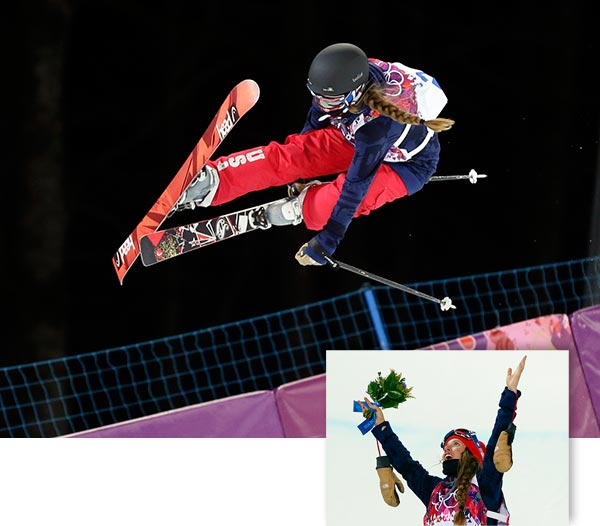 Maddie Bowman of US claims gold in women&#39;s ski halfpipe   KRASNAYA POLYANA, Russia &#40;AP&#41; - Maddie Bowman of the United States won the first-ever gold in women&#39;s Olympic halfpipe skiing.  The 20-year-old Bowman scored 89.00 in the finals on Thursday night to edge Marie Martinod of France. Ayana Onozuka of Japan earned the bronze.  Bowman strung together a series of spins and tricks to give the U.S. a sixth gold medal at Rosa Khutor Extreme Park. With her braid spinning in the chilly night air, Bowman&#39;s performance was just good enough.  Martinod retired in 2007 but returned to the sport in 2012 at the urging of late Canadian freestyle skiing icon Sarah Burke.  Burke, a leading advocate to have women&#39;s halfpipe skiing added to the Olympic program, died after a training accident in 2012. <span class=meta>(AP&#47;Andy Wong and Sergei Grits)</span>