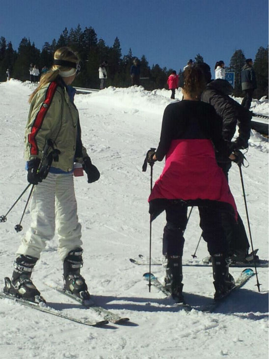 Skiers hit the slopes at China Peak. <span class=meta>(KFSN Photo&#47; Linda Mumma)</span>
