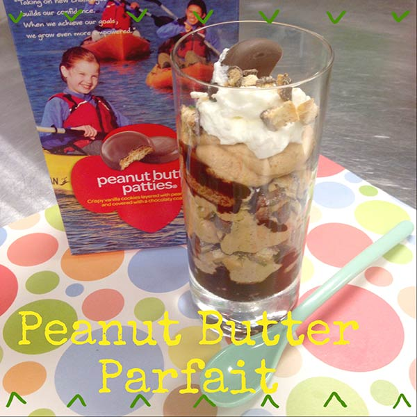 Peanut Butter Patty Parfait