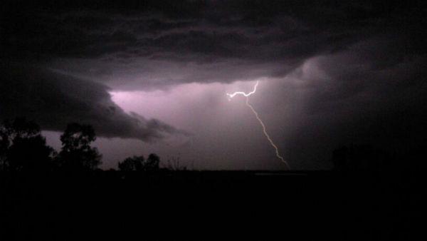 Madera ranchos. Very cool lightning storm. <span class=meta>(Jamie Stoki)</span>