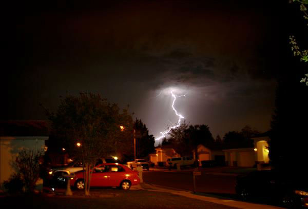 Easter weekend storms in the Central Valley <span class=meta>(KFSN Photo&#47; uReport - Tiffany)</span>